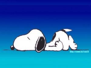 sleeping-snoopy